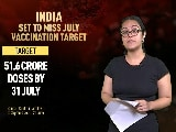 Video : India Set To Miss July Covid Vaccination Target