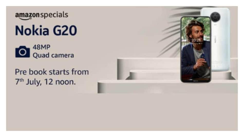 48MP कैमरे वाले Nokia G20 की प्री-बुकिंग भारत में 7 जुलाई को होगी शुरू, जानें कीमत...