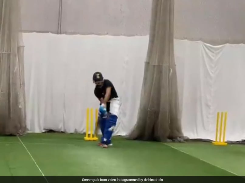 Watch: Delhi Capitals Pens Down Special Message For Shreyas Iyer As He Hits The Nets After A Long Time