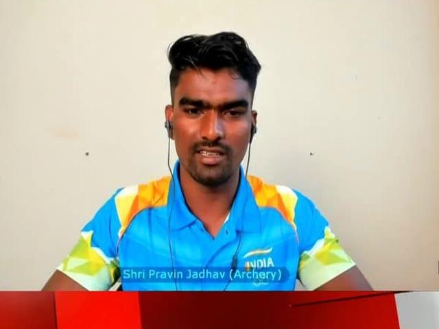 Video : From Athletics To Archery: Pravin Jadhav Tells His Story To PM Modi