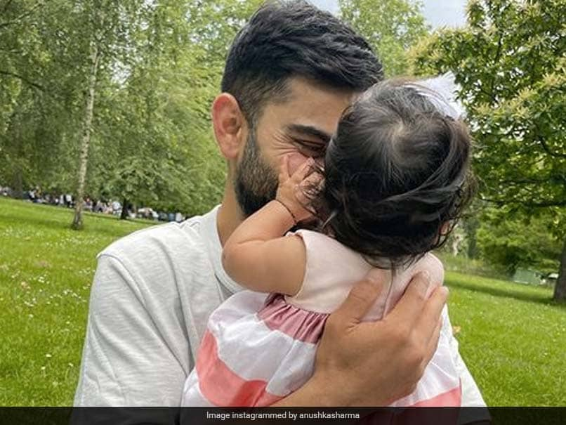 """Happy 6 Months To Us"": Anushka Sharma Shares Pics With Virat Kohli, Daughter Vamika"