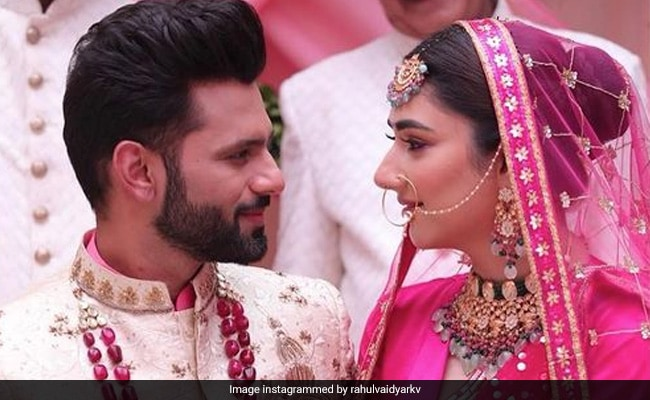 Rahul Vaidya And Disha Parmar Reveal Their Wedding Date. Details Here