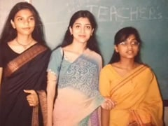"""At 16, Shriya Saran Wore A <i>Saree</i> For The """"First Time."""" See Throwback Pic"""