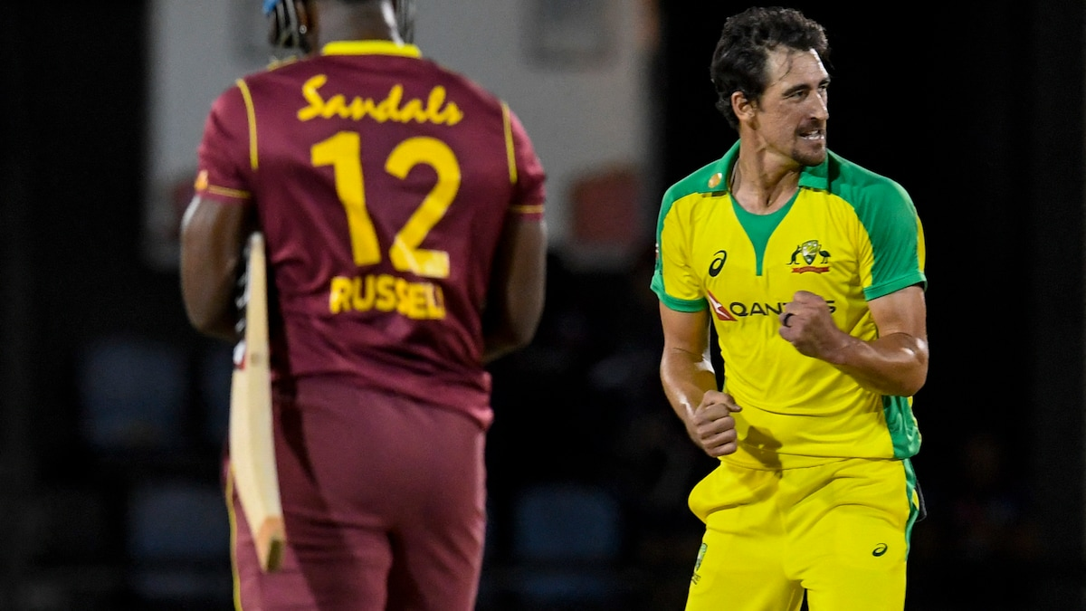 Photo of West Indies vs Australia: Mitchell Starc Defends 10 Runs In Final Over Against Andre Russell. Watch