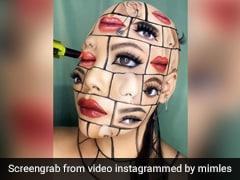 Viral Video: Makeup Artist's Mind-Blowing Face Art Has Internet In Awe