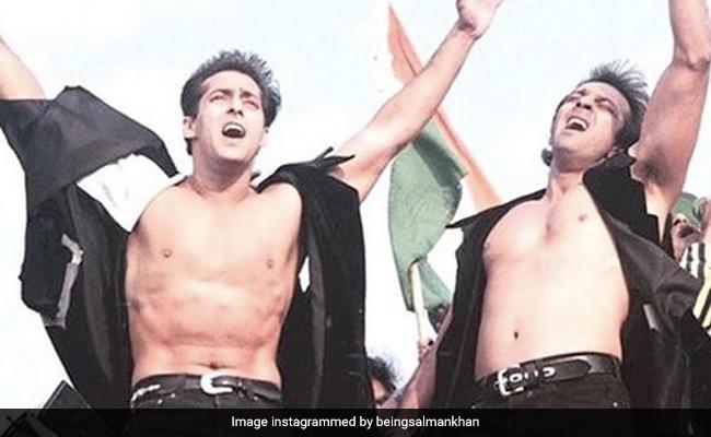 Salman Khan's Birthday Wish For Sanjay Dutt Is A Major Throwback
