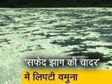 Video : Delhi: यमुना नदी में फिर दिखी सफेद झाग, देखें चौंका देने वाला Video