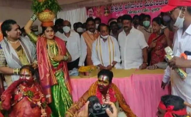 Masks, Social Distancing Missing As Telangana Goes Big On Bonalu Festival