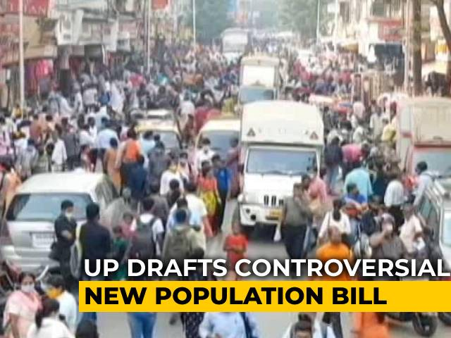 Video : UP Population Bill Draft Says No Government Jobs, Subsidy If More Than 2 Children