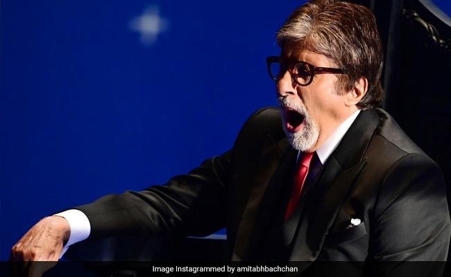 सेट पर ऊंघते हुए नजर आए अमिताभ बच्चन, फोटो शेयर कर बोले- ऐसा ही होता है जब...