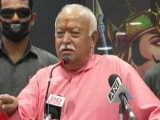"""Video : """"Don't Get Trapped In Cycle Of Fear"""": RSS Chief's Message For Muslims, Other Top Stories"""