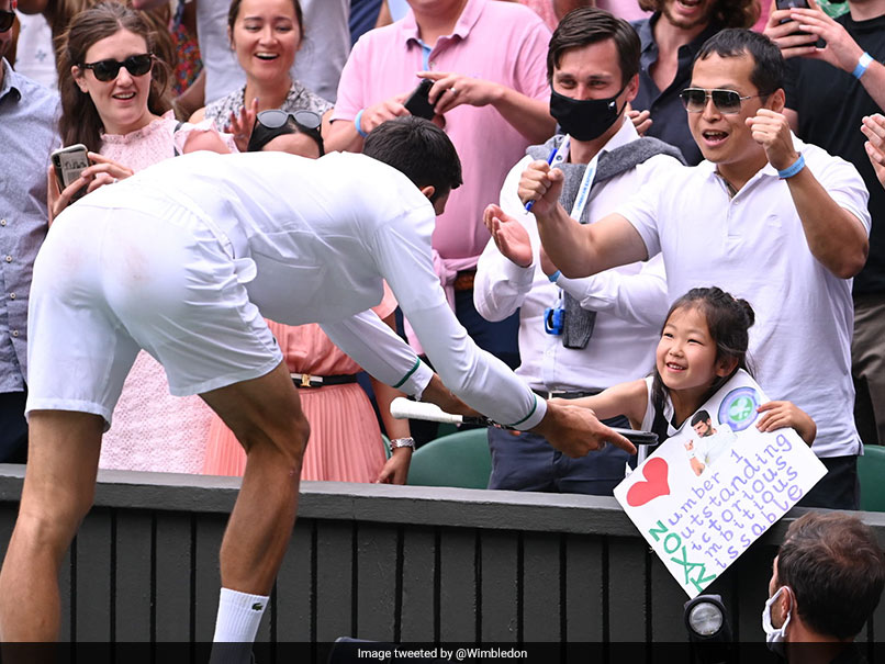Watch: Novak Djokovics Gesture For Young Fan At Wimbledon Delights Crowd
