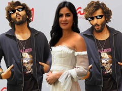 On Katrina Kaif's Birthday, Arjun Kapoor Couldn't Resist Sharing This ROFL Post