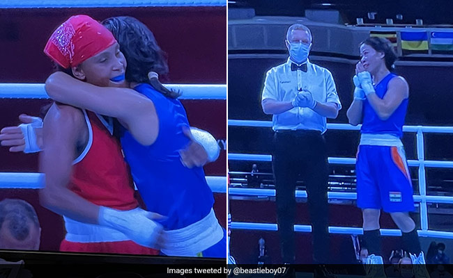 Tokyo Olympics: Mary Kom wins heart even after defeat, hugs her opponent boxer