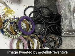 Heroin Worth Rs 7.5 Crore Smuggled In Bangles Seized At Delhi Airport
