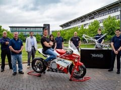 Norton Motorcycles Support University Of Warwick Electric Bike Project