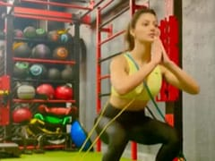 Urvashi Rautela Redefines Fitness In New Workout Video