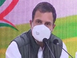 Video : Can't Discuss China, Rahul Gandhi Walks Out Of Defence Panel Meet: Sources