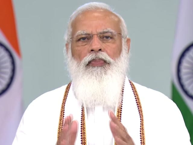 Video : Can Face Greatest Challenges By Walking On Lord Buddha's Path: PM Modi