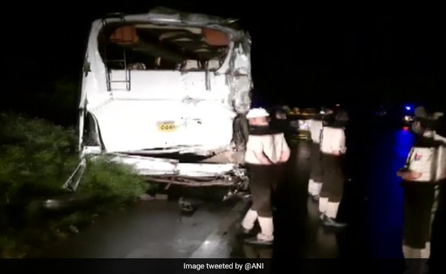 7 dead, 8 Injured In Bus Collision In UP's Sambhal