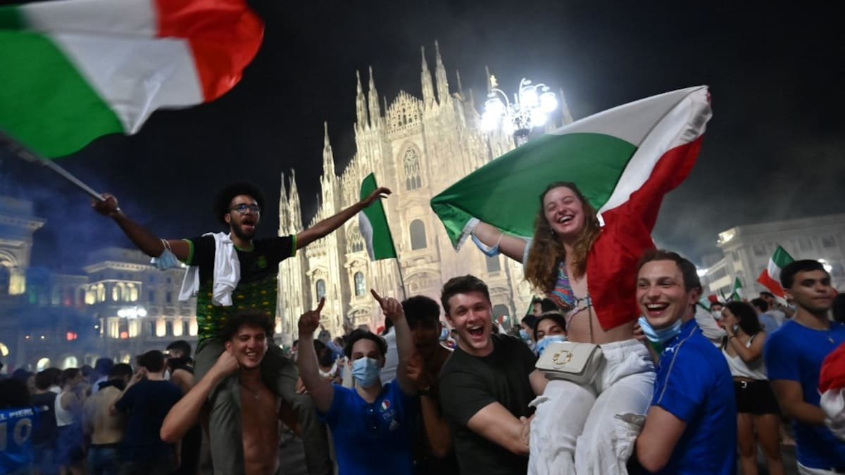 UEFA EURO 2020: Italian Jubilees Celebrate European Championship Victory to Forget the Pandemic |  Football news