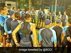 Sri Lanka vs India: Shikhar Dhawan-Led Indian Squad Takes Field For First Practice Session Under Lights