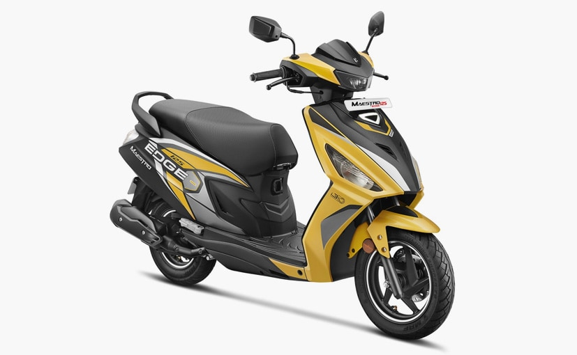 Hero Maestro Edge 125 Launched With Bluetooth Connectivity; Priced At Rs. 79,750