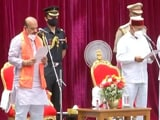 Video : Basavaraj Bommai Takes Oath As Karnataka Chief Minister