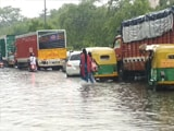 Video : Waterlogging In Delhi And Gurgaon After Downpour, More Rain Likely