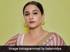 "Just Vidya Balan Rocking A Tiger Print Striped <i>Saree</i> Like The ""Sherni"" She Is"