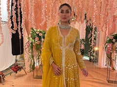 Kareena Kapoor In A Gorgeous Yellow Rs 1.4 Lakh <i>Anarkali</i> From Ridhi Mehra Has Charmed Us Entirely