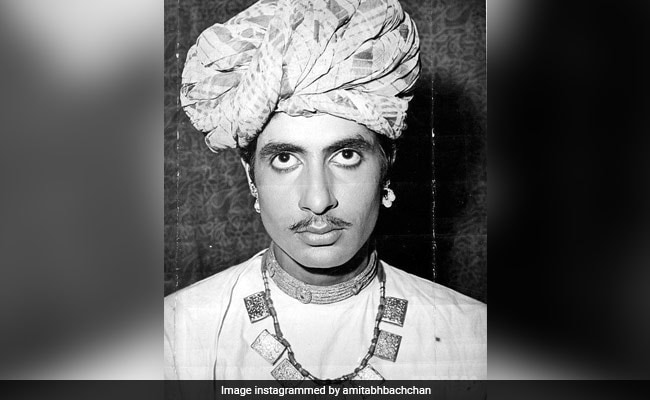 Pic From Amitabh Bachchan's Look Test For 1971 Film. He 'Actually Got Selected'