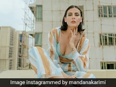 Mandana Karimi Simply Cannot Stop Channeling Summer Days In Her Striped Co-Ord Set