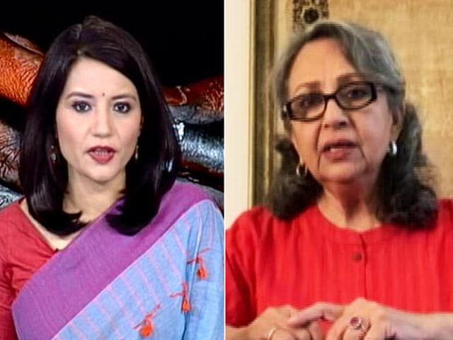 Video : The Government's Capacity Much Match The Viciousness Of The Trafficker: Sharmila Tagore