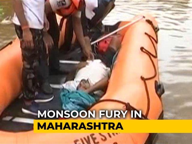 Video : 40-Year Record For Maharashtra Rain, At Least 36 Dead