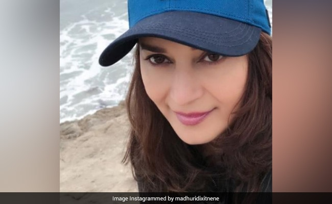 Nothing To See Here, Just Madhuri Dixit Getting A Good Dose Of 'Vitamin Sea'