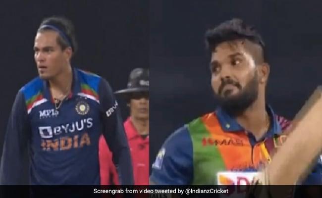 विकेट लेते ही Rahul Chahar ने भड़कते हुए मनाया जश्न, श्रीलंकाई बल्लेबाज के जवाब ने जीत लिया दिल- Video