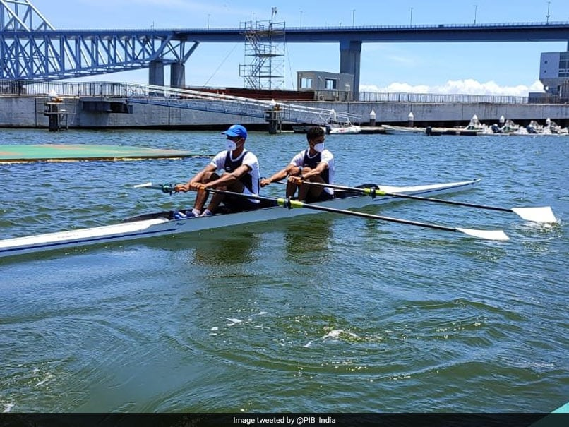 Tokyo Olympics: Arjun Lal Jat, Indian rower Arvind Singh reach double Scull semi-finals |  Olympic News
