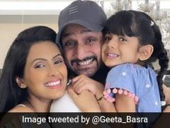 "Harbhajan Singh, Geeta Basra ""Blessed With A Baby Boy"""