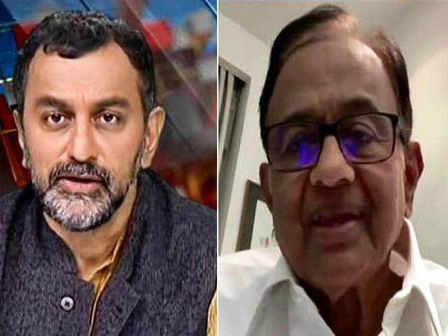 "Video : ""Mounting Evidence That Something Went Wrong"": P Chidambaram To NDTV On Pegasus"