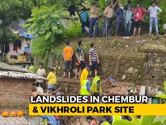 Video : 20 Die As Heavy Rain, Landslides Hit Mumbai; Rescue Ops On