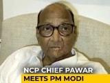 Video : Sharad Pawar Meets PM Modi, Flags Amit Shah's New Ministry