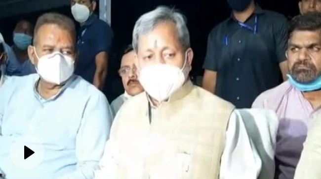 Video   Uttarakhand Chief Minister Resigns 4 Months After He Took Charge