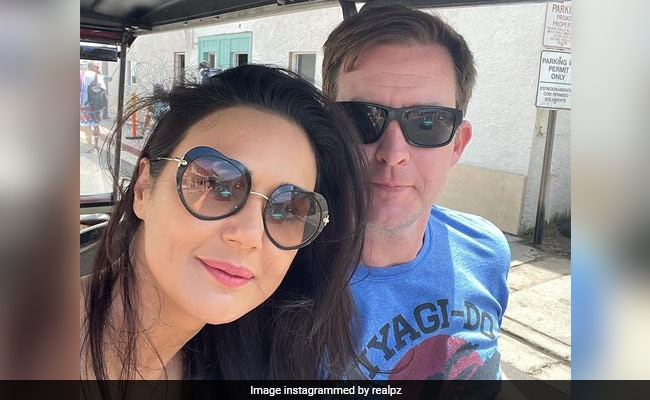 Nothing To See Here, Just Preity Zinta And Gene Goodenough 'Riding In Golf Cart'