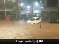 Videos: Cars Swept Away, Streets Flooded Amid Heavy Rain In Mumbai