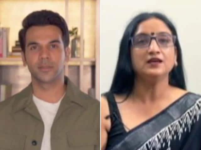 Video : #RukJaanaNahi: Rajkummar Rao Meets Heroes Who Performed Last Rites For Covid Victims