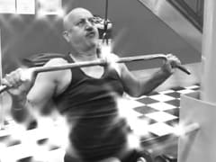 """<i>The Moustache</i>: In Anupam Kher's """"Shortest Film Ever,"""" He Goes Into """"Beast Mode"""" In The Gym"""
