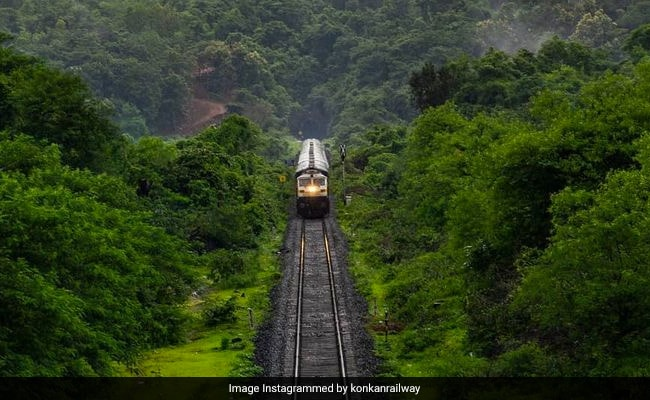 6,000 Stranded As Konkan Rail Route Disrupted Due To Heavy Rain