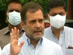 """""""It Is Resolved"""": Rahul Gandhi On Punjab Congress Infighting"""