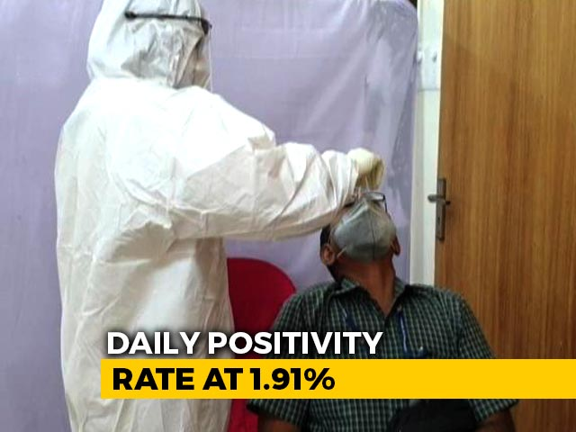 Video : 38,079 Fresh COVID-19 Cases In India, Marginally Lower Than Yesterday